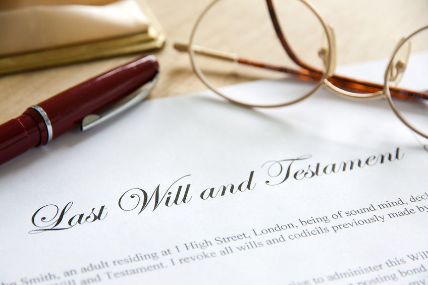 How to write a legal Will – the signing process